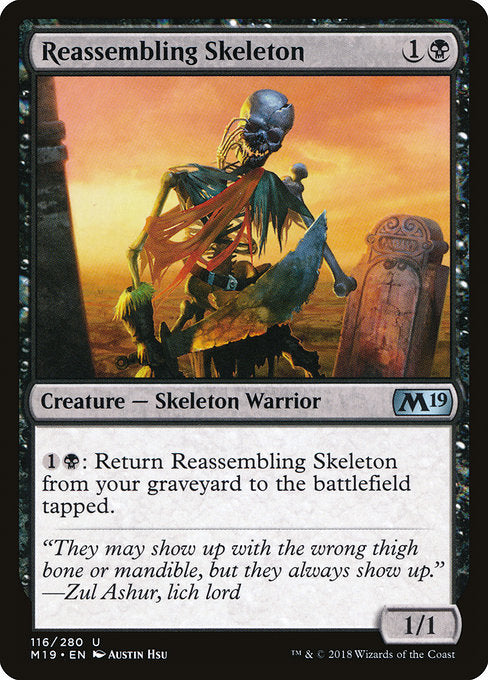 Reassembling Skeleton [Core Set 2019]
