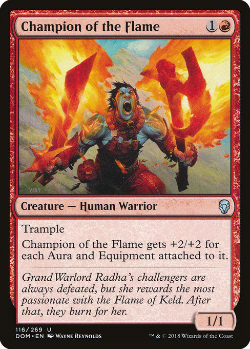 Champion of the Flame [Dominaria] | Guf