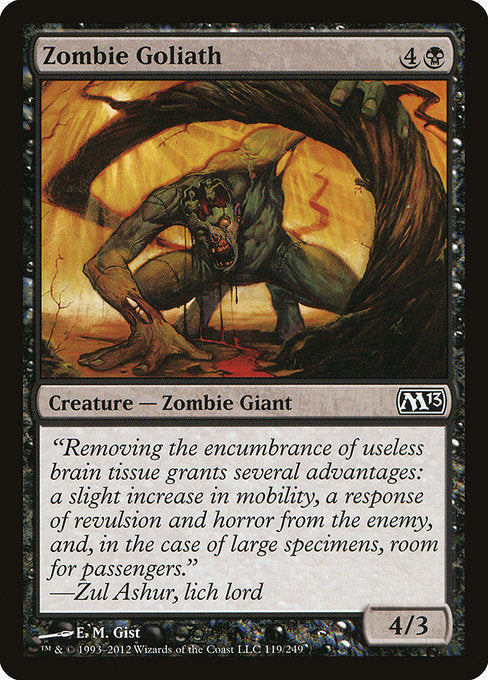 Zombie Goliath [Magic 2013] | Guf