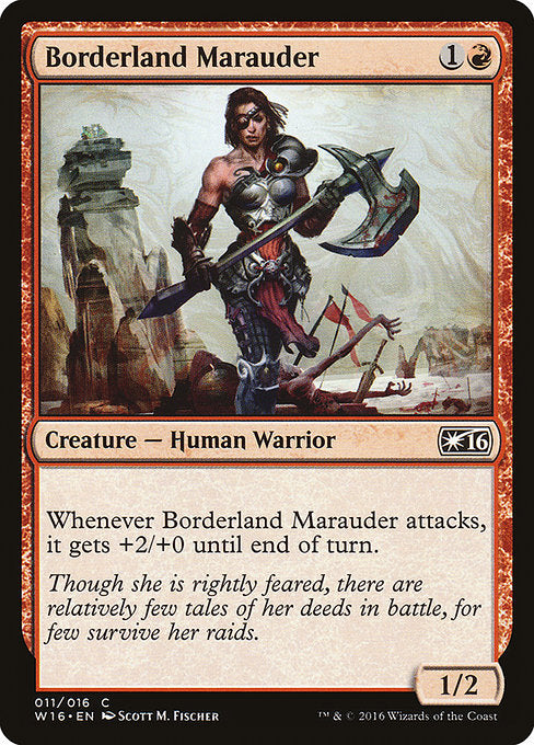 Borderland Marauder [Welcome Deck 2016] | Guf