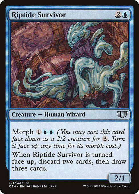 Riptide Survivor [Commander 2014] | Guf