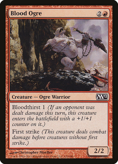 Blood Ogre [Magic 2012]
