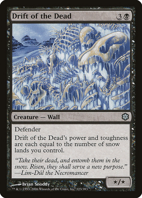 Drift of the Dead [Coldsnap Theme Decks] | Guf
