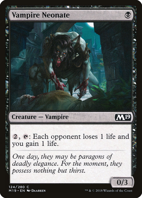Vampire Neonate [Core Set 2019] | Guf