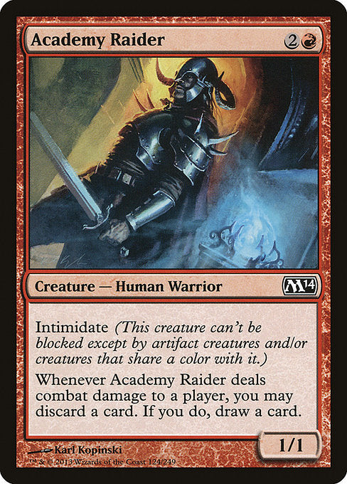Academy Raider [Magic 2014]