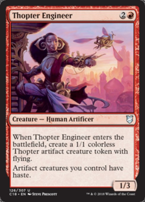 Thopter Engineer [Commander 2018]