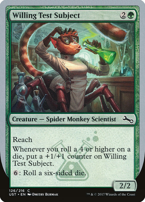 Willing Test Subject [Unstable] | Guf