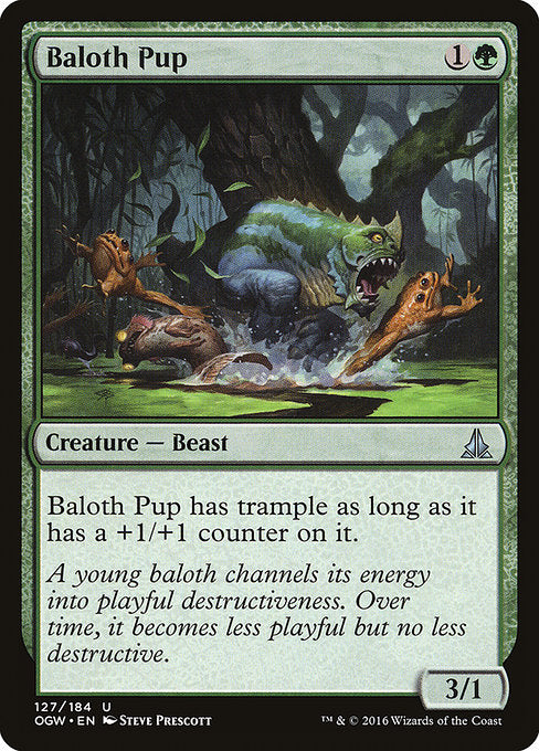 Baloth Pup [Oath of the Gatewatch] | Guf