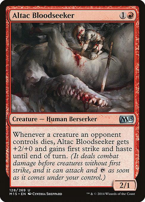 Altac Bloodseeker [Magic 2015]