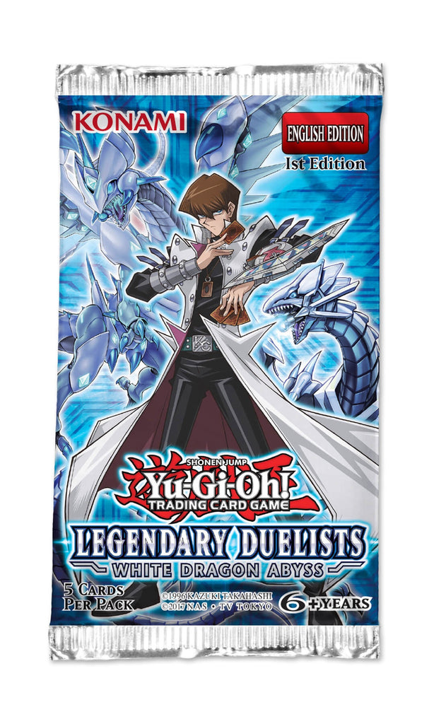 YU-GI-OH! TCG Legendary Duelist: White Dragon Abyss Booster