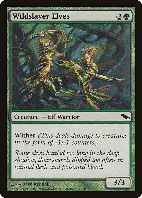 Wildslayer Elves [Shadowmoor] | Guf