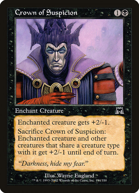 Crown of Suspicion [Onslaught]