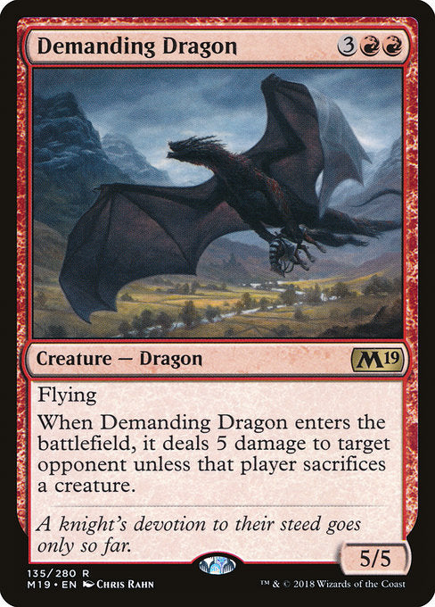 Demanding Dragon [Core Set 2019] | Guf