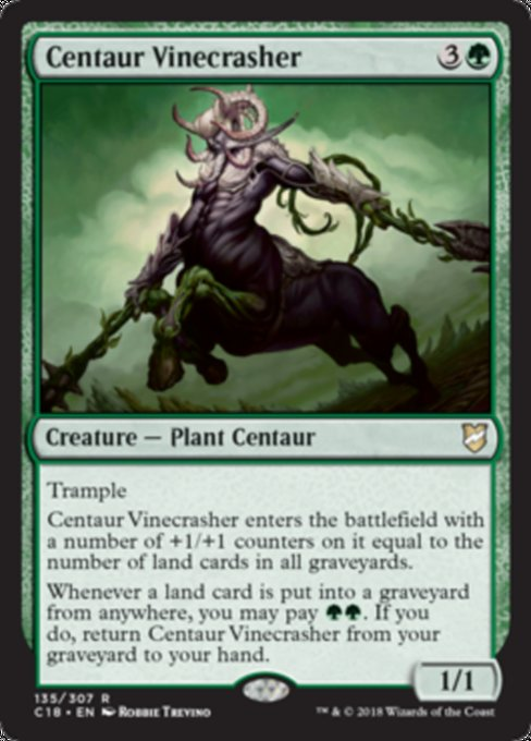 Centaur Vinecrasher [Commander 2018] | Guf