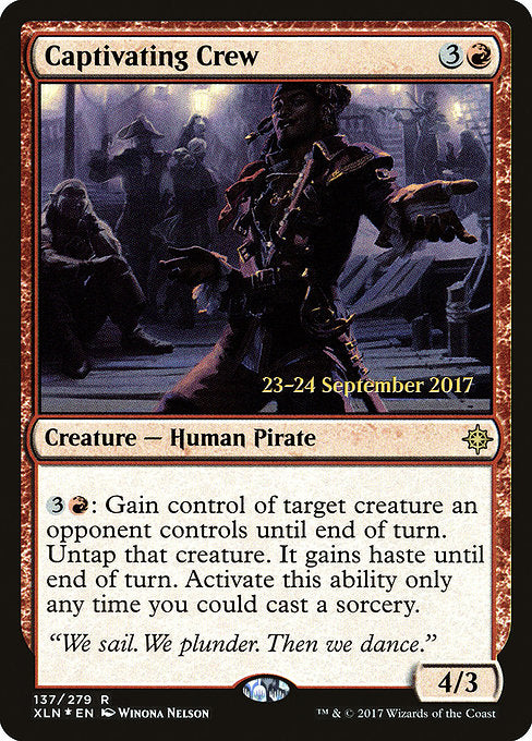 Captivating Crew [Ixalan Promos] | Guf