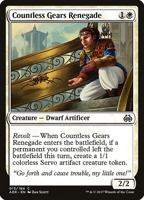 Countless Gears Renegade [Aether Revolt] | Guf