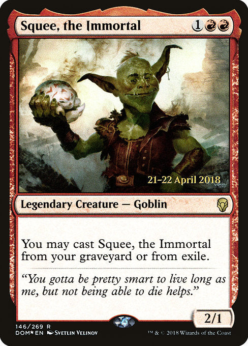 Squee, the Immortal [Dominaria Promos] | Guf