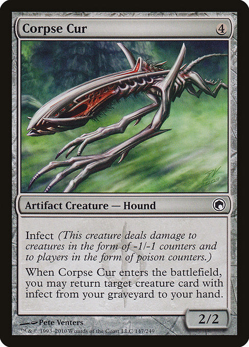 Corpse Cur [Scars of Mirrodin] | Guf