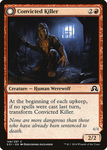 Convicted Killer // Branded Howler [Shadows over Innistrad]