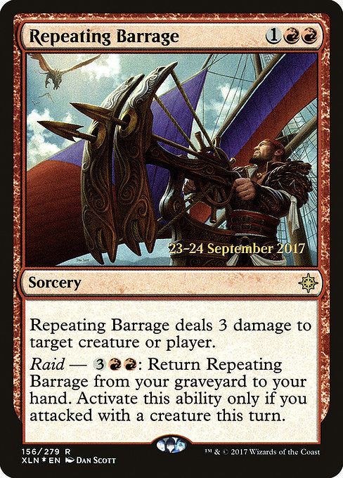 Repeating Barrage [Ixalan Promos] | Guf