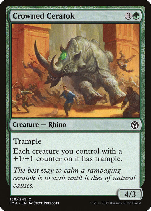 Crowned Ceratok [Iconic Masters]