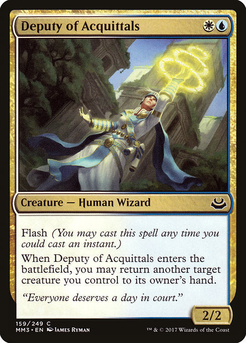 Deputy of Acquittals [Modern Masters 2017]