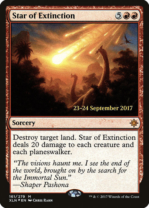 Star of Extinction [Ixalan Promos]