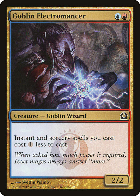 Goblin Electromancer [Return to Ravnica] | Guf