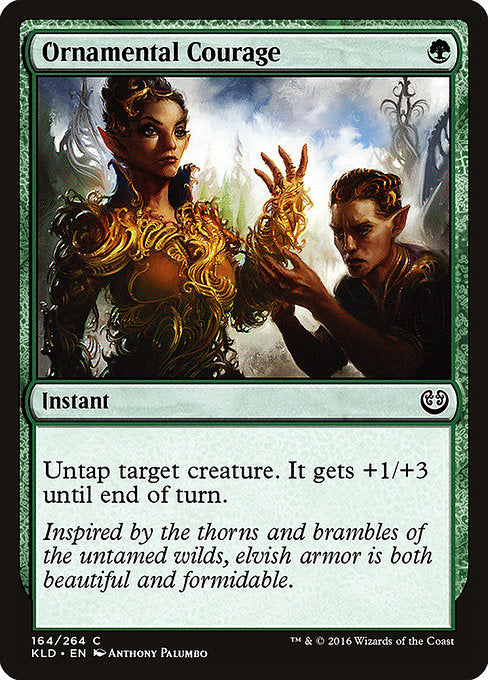 Ornamental Courage [Kaladesh] | Guf