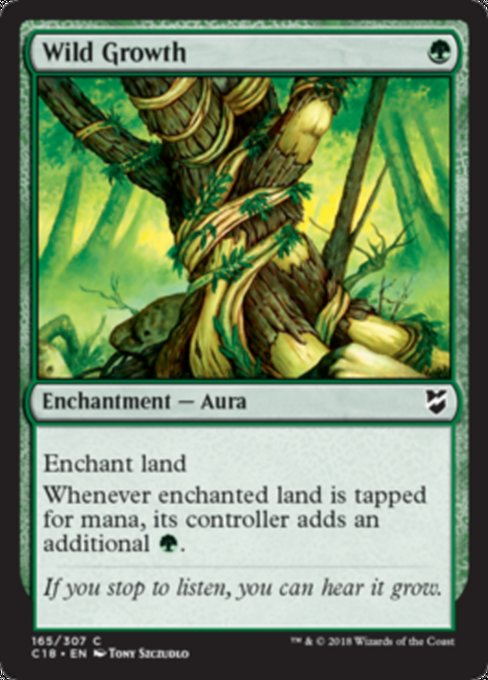 Wild Growth [Commander 2018]