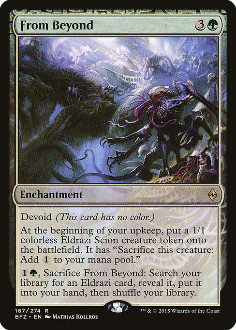 From Beyond [Battle for Zendikar] | Guf