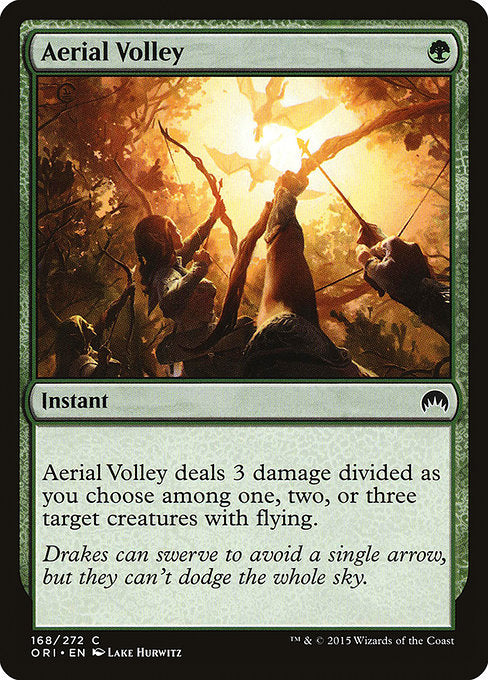 Aerial Volley [Magic Origins]