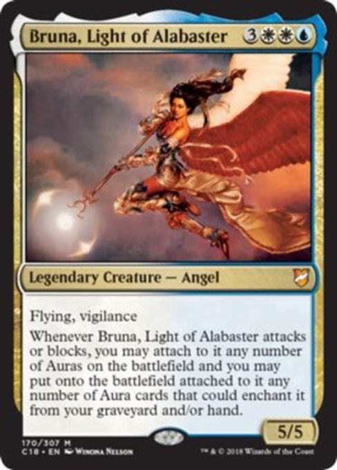Bruna, Light of Alabaster [Commander 2018] | Guf