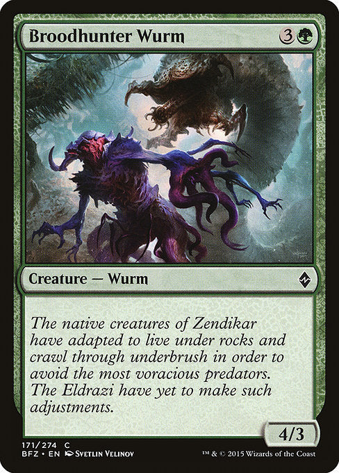 Broodhunter Wurm [Battle for Zendikar]