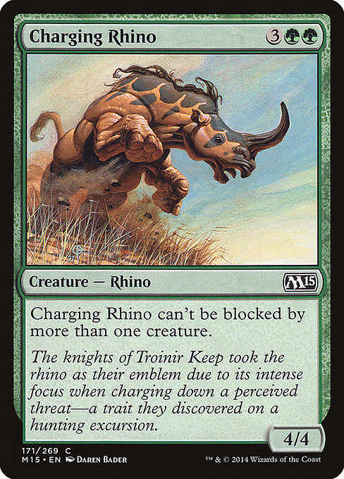 Charging Rhino [Magic 2015] | Guf
