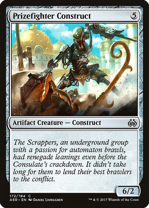 Prizefighter Construct [Aether Revolt] | Guf