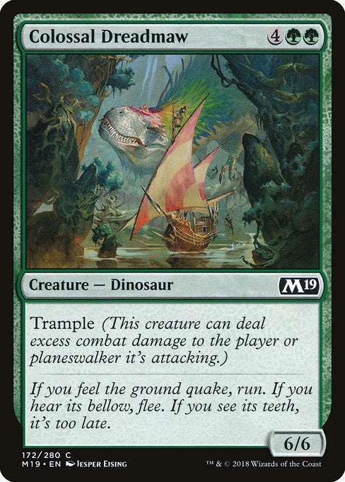 Colossal Dreadmaw [Core Set 2019]