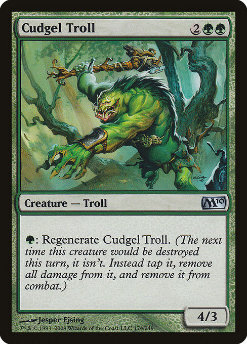 Cudgel Troll [Magic 2010]