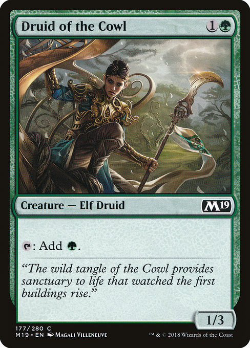 Druid of the Cowl [Core Set 2019]