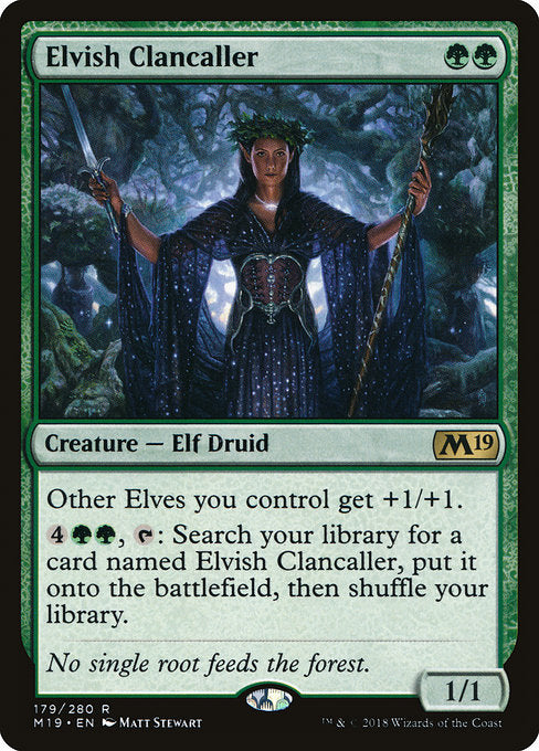 Elvish Clancaller [Core Set 2019] | Guf