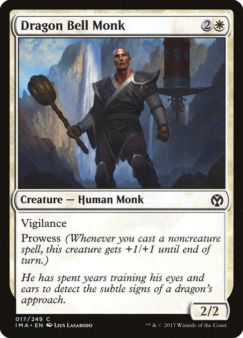 Dragon Bell Monk [Iconic Masters] | Guf