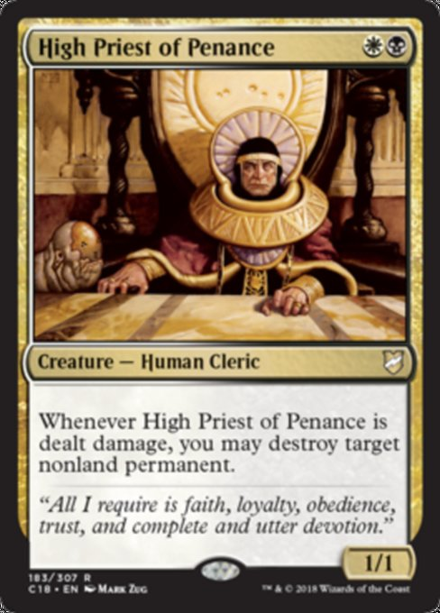 High Priest of Penance [Commander 2018] | Guf