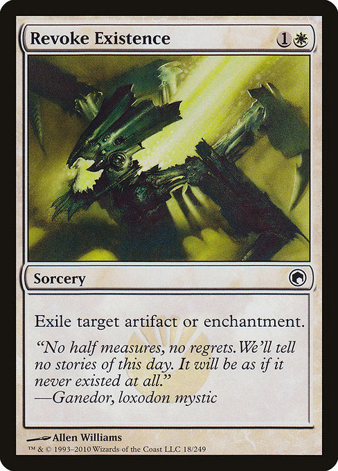 Revoke Existence [Scars of Mirrodin] | Guf