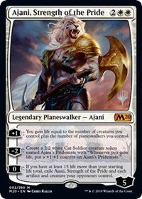 Ajani, Strength of the Pride [Promo Pack: Core Set 2020] | Guf