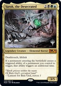 Yarok, the Desecrated [Promo Pack: Core Set 2020]