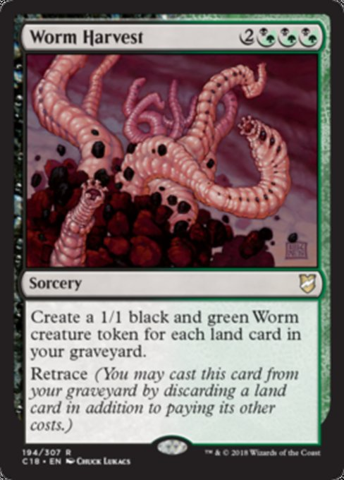 Worm Harvest [Commander 2018] | Guf