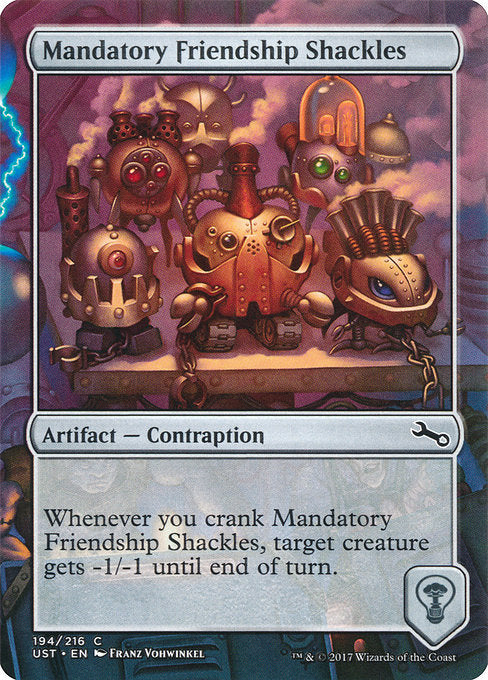 Mandatory Friendship Shackles [Unstable] | Guf