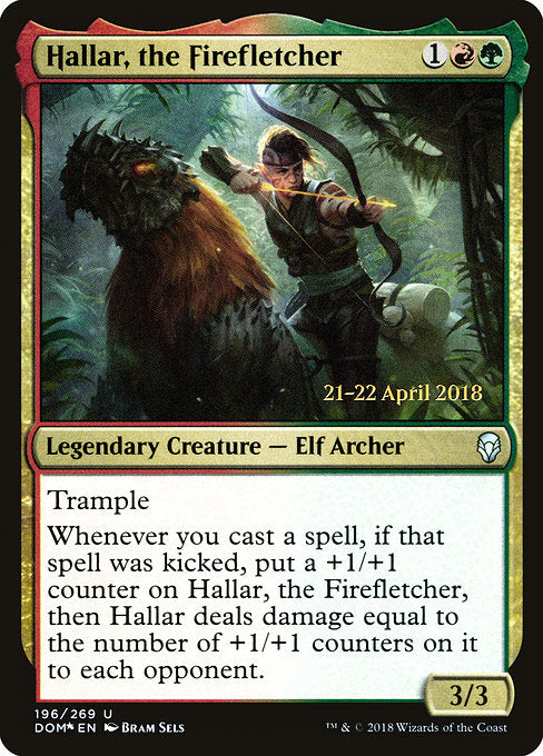 Hallar, the Firefletcher [Dominaria Promos] | Guf