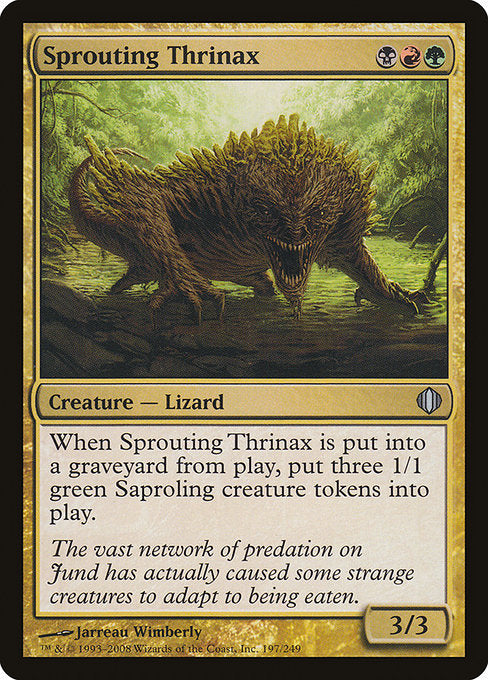 Sprouting Thrinax [Shards of Alara] | Guf