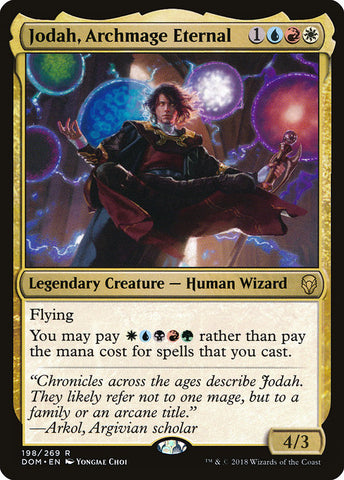 Jodah, Archmage Eternal [Dominaria]